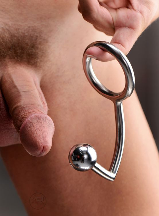 anal intruder cock ring